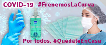 #QuédateEnCasa ayudemos a #FrenarLaCurva