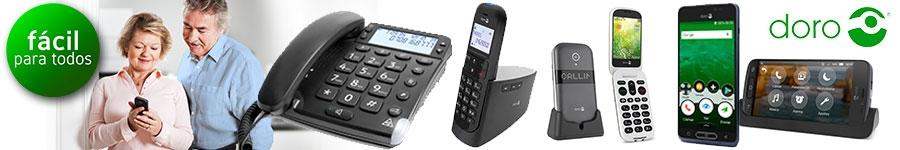 Teléfonos para mayores Doro