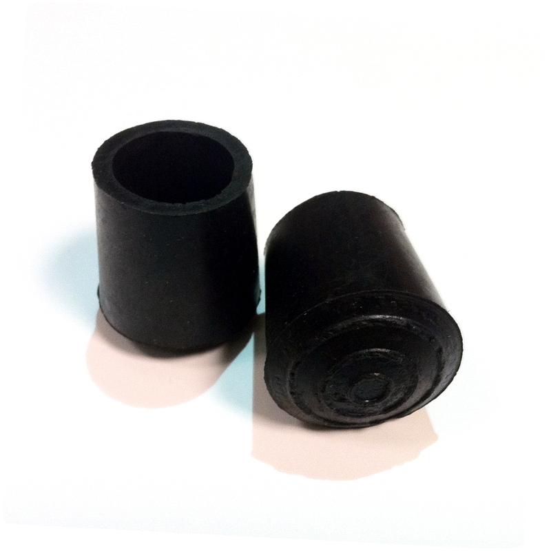 Contera Negra Ø18 mm (Bastón)
