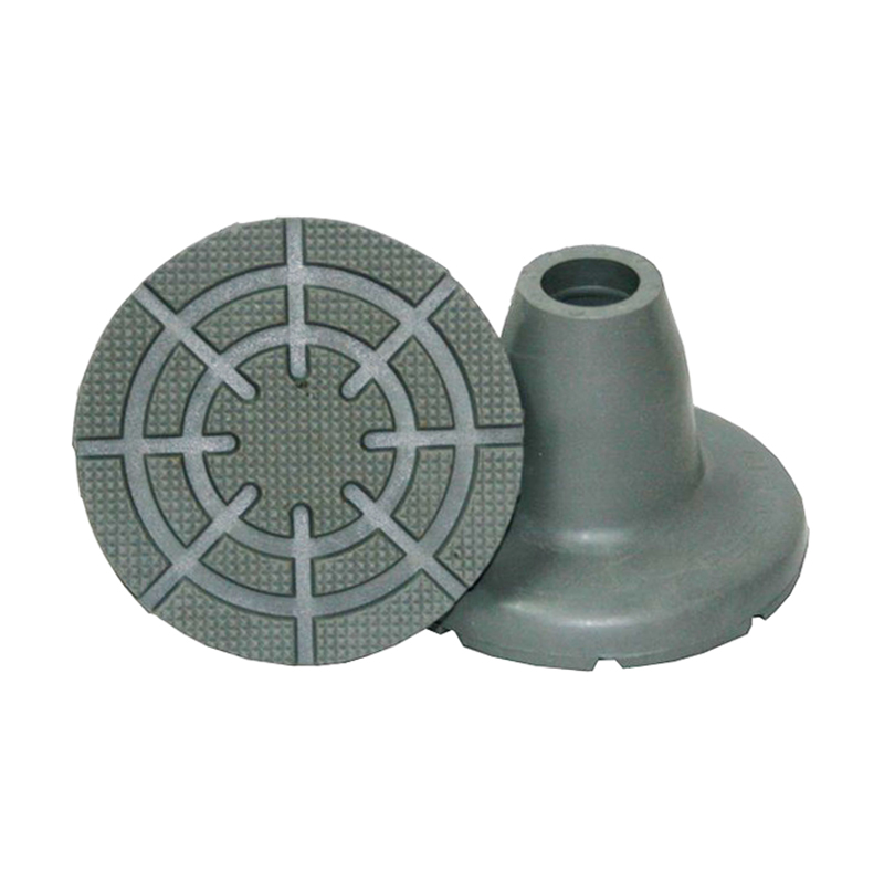 Contera Gris Ø19mm. Base Ancha