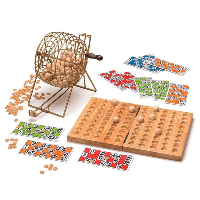 Juego de Bingo en Grupo 'Deluxe'