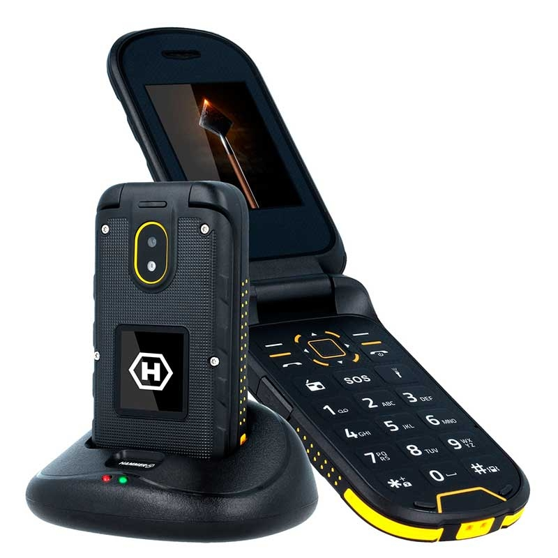 Teléfono Móvil Antigolpes Hammer BOW+