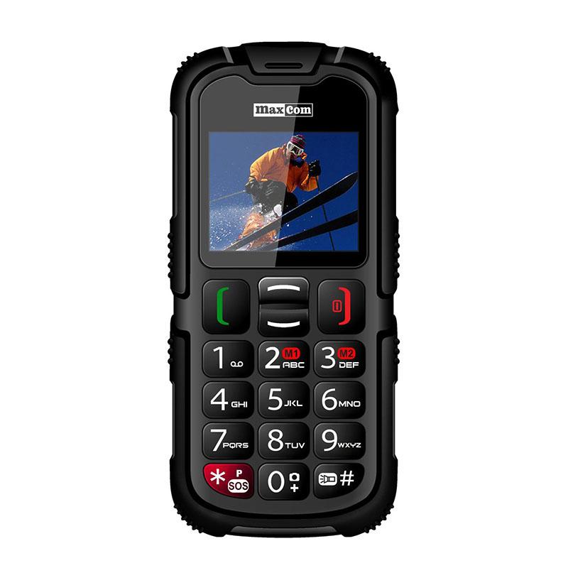 Maxcom MM910 - Teléfono Móvil Parlante Anti Golpes