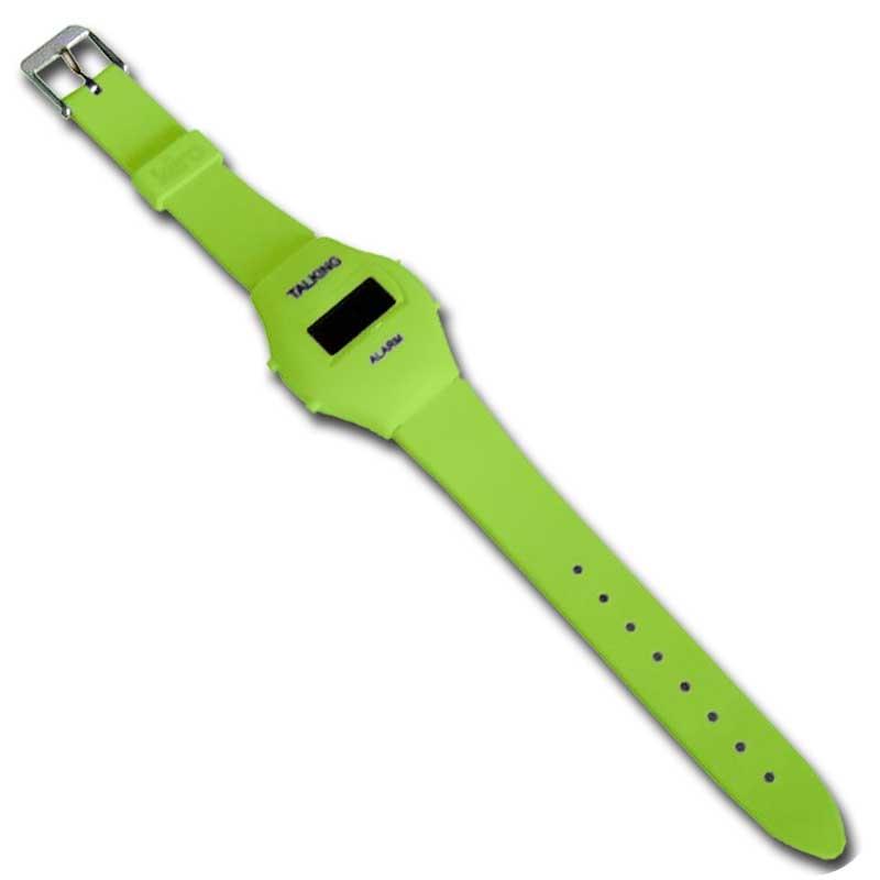 Reloj de Pulsera Parlante 'Colors' - Verde