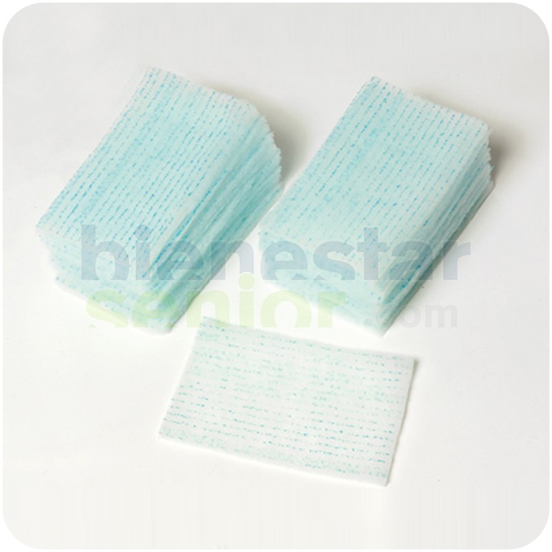 Esponjas Desechables Jabón Espumoso (Caja 50 bolsas)