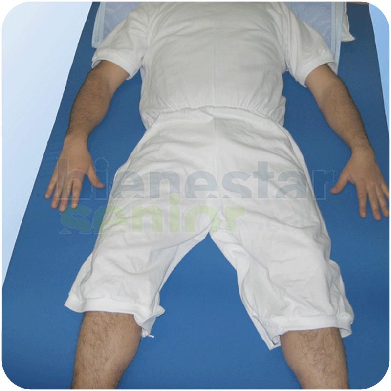 Pijama Manga Corta Entrepierna Abierta