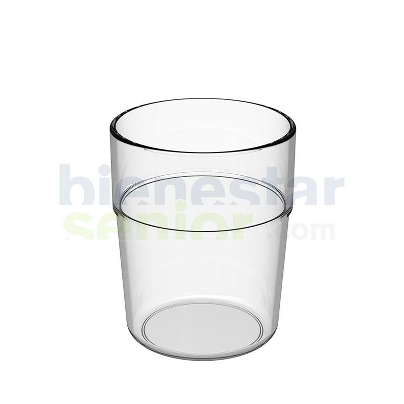 Vaso Agua Irrompible Transparente (48 uds.)