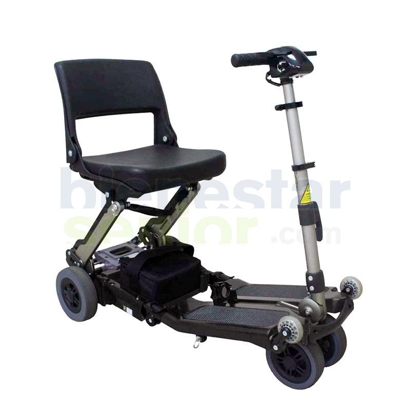 Scooter Luggie Eco - Portátil Montaje Fácil y Rápido