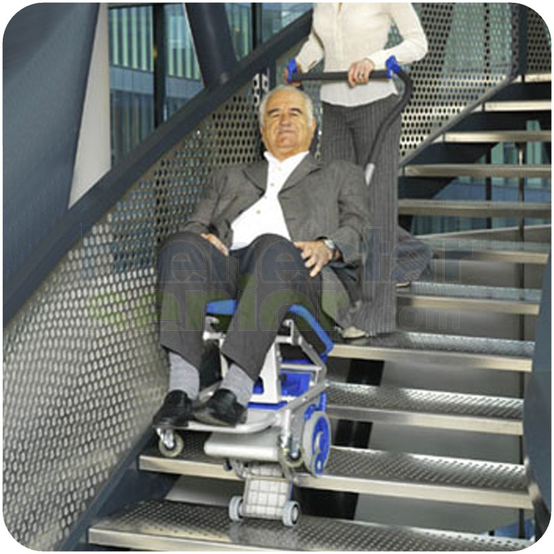 Silla salva escaleras el ctrica liftkar pt s 130 for Escaleras piscina para personas mayores