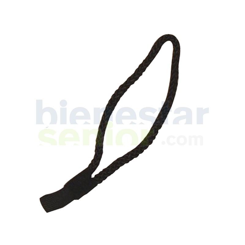 Cordón Cómodo para Bastón Negro
