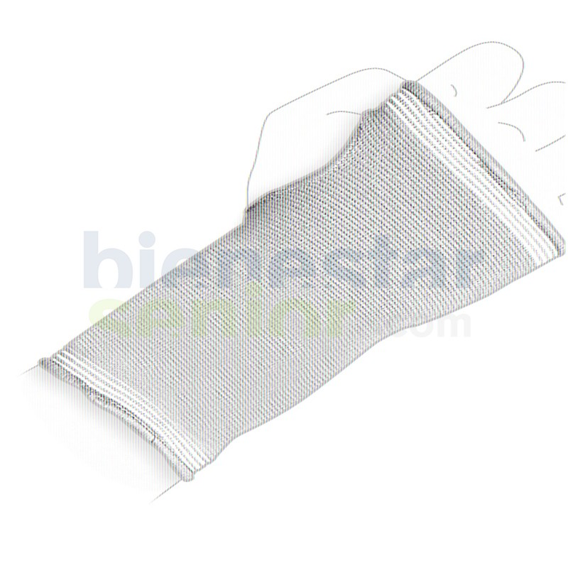 Muñequera Compresora Elástica Resistente Larga