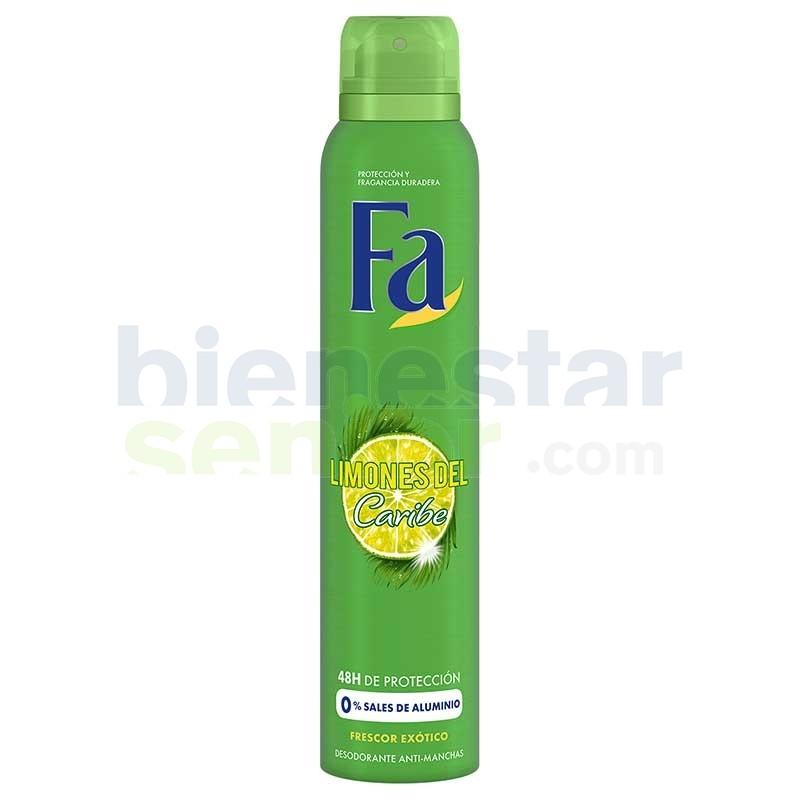 Desodorante Deo Spray Limones Caribe