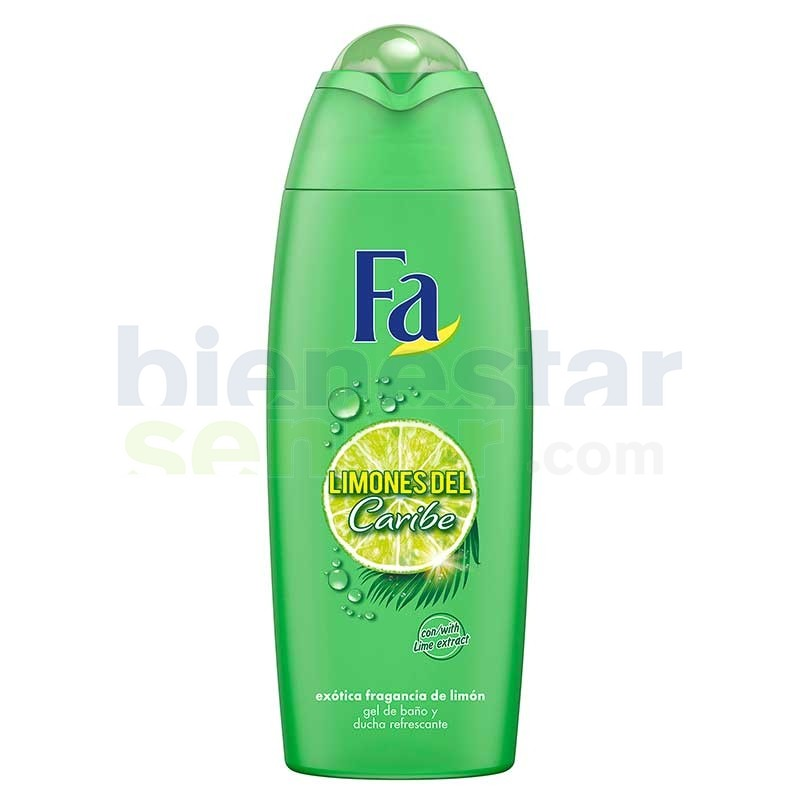 Gel de Baño Limones Caribe