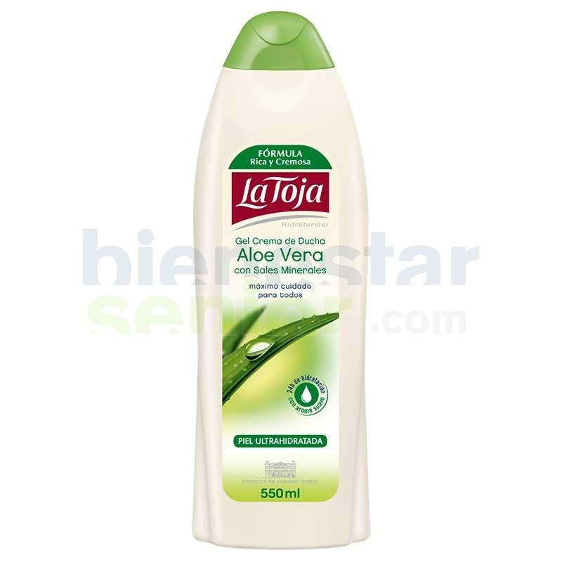 Gel de Baño con Aloe Vera