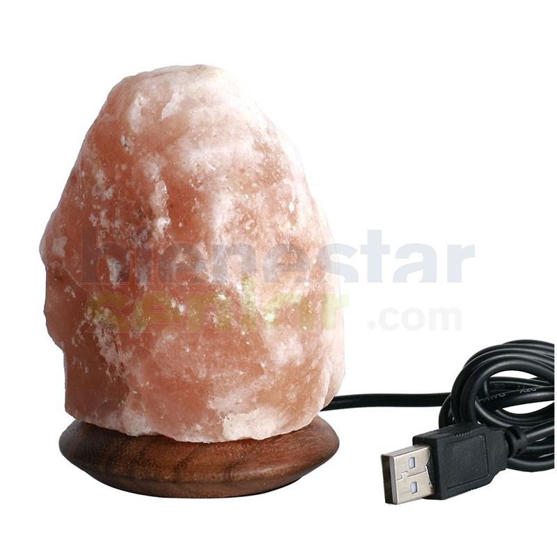 Lampara de Sal del Himalaya -Colores- USB