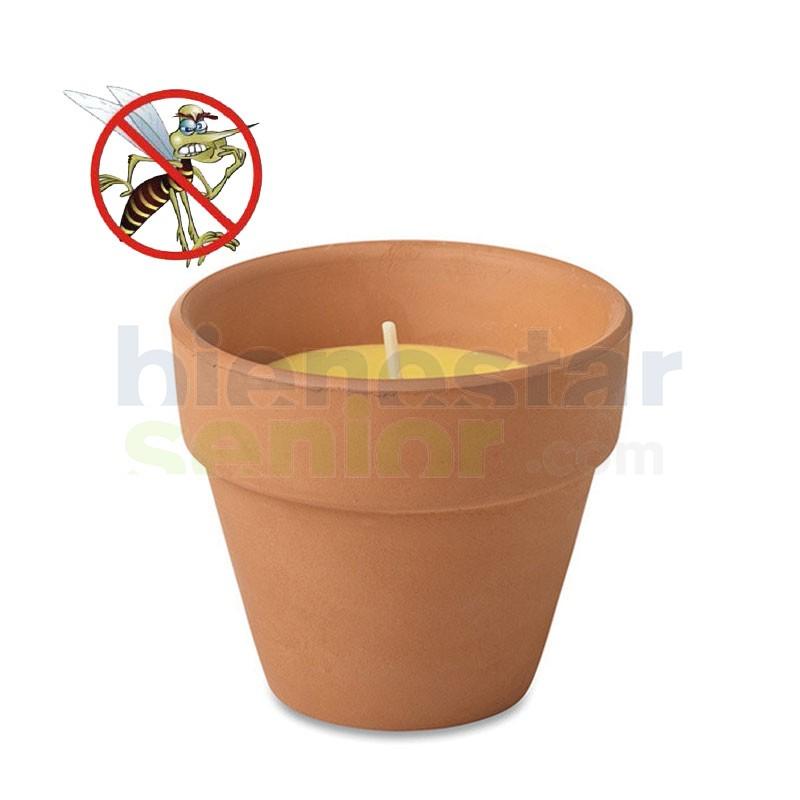 Maceta Citronella Antimosquitos Pequeña