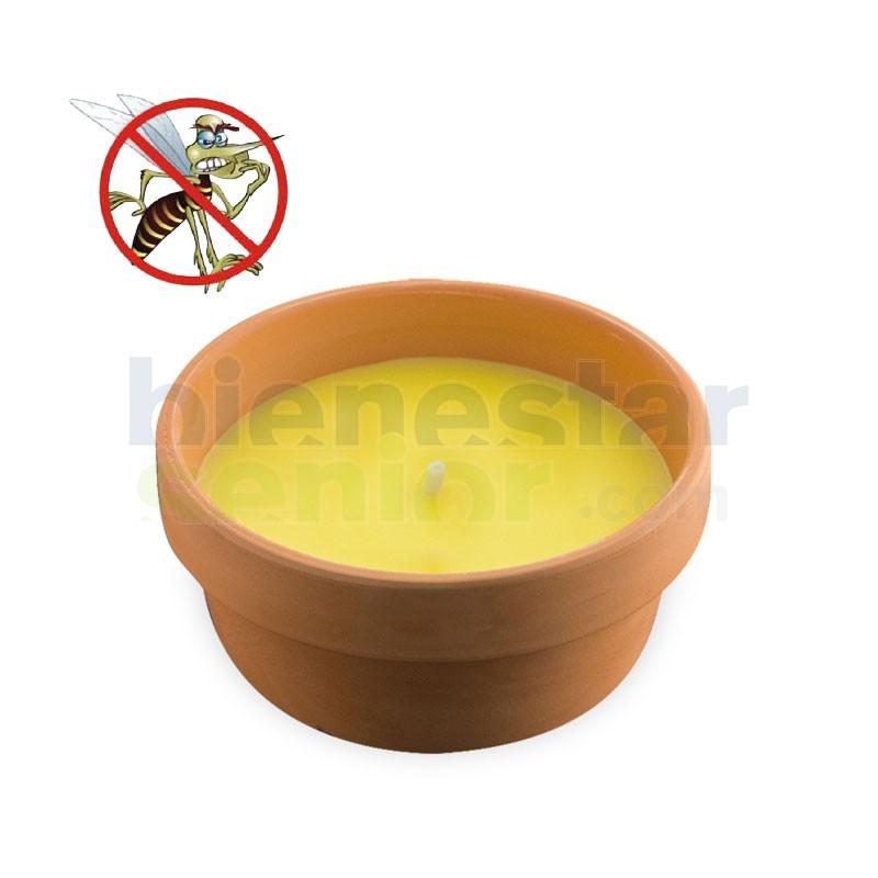 Maceta Citronella Antimosquitos Mediana