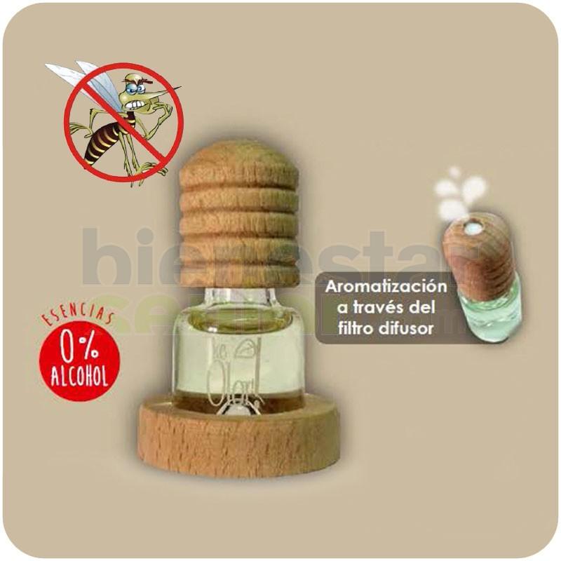 Ambientador Citronella Antimosquitos Base Madera
