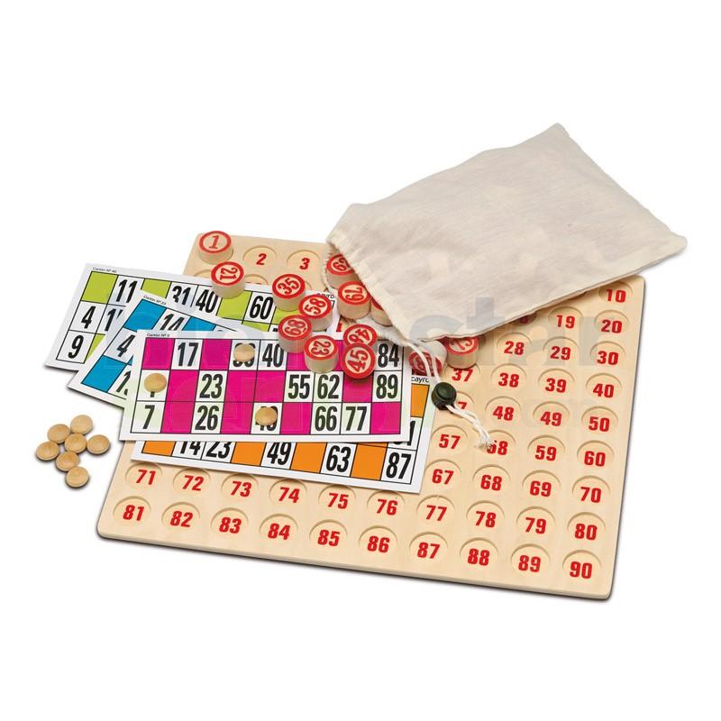 Juego Lotería / Bingo Gran Tamaño