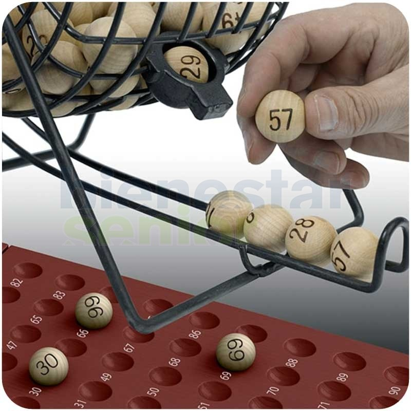 Juego Bingo Bombo Tradicional