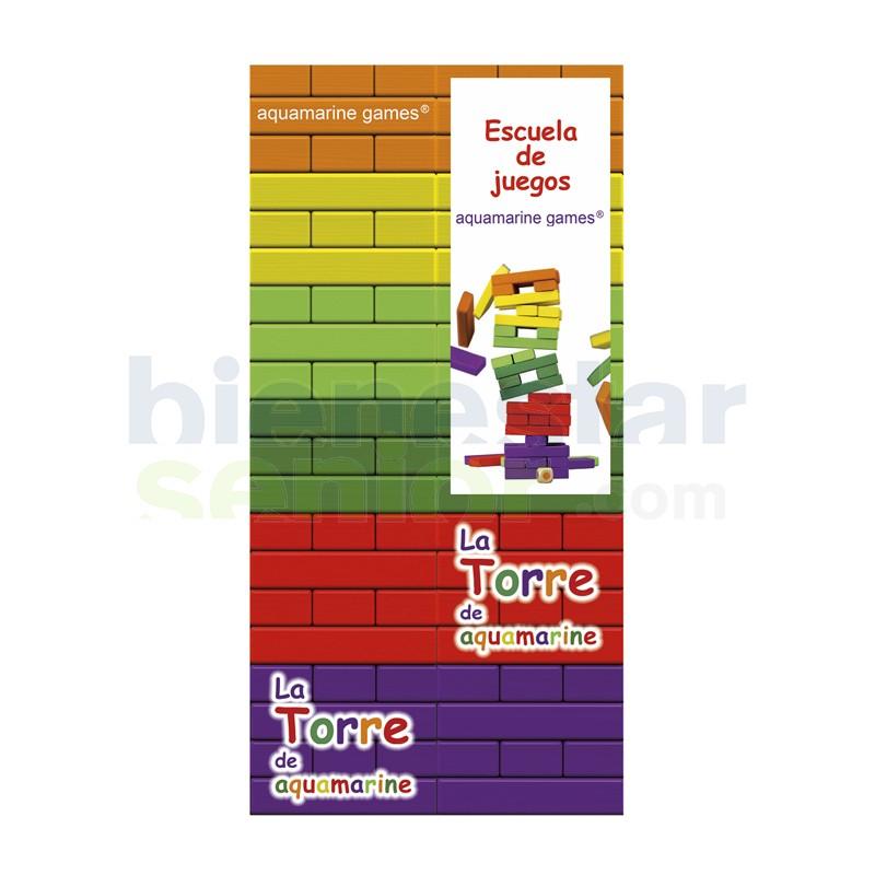Juego Habilidad Torre de Colores