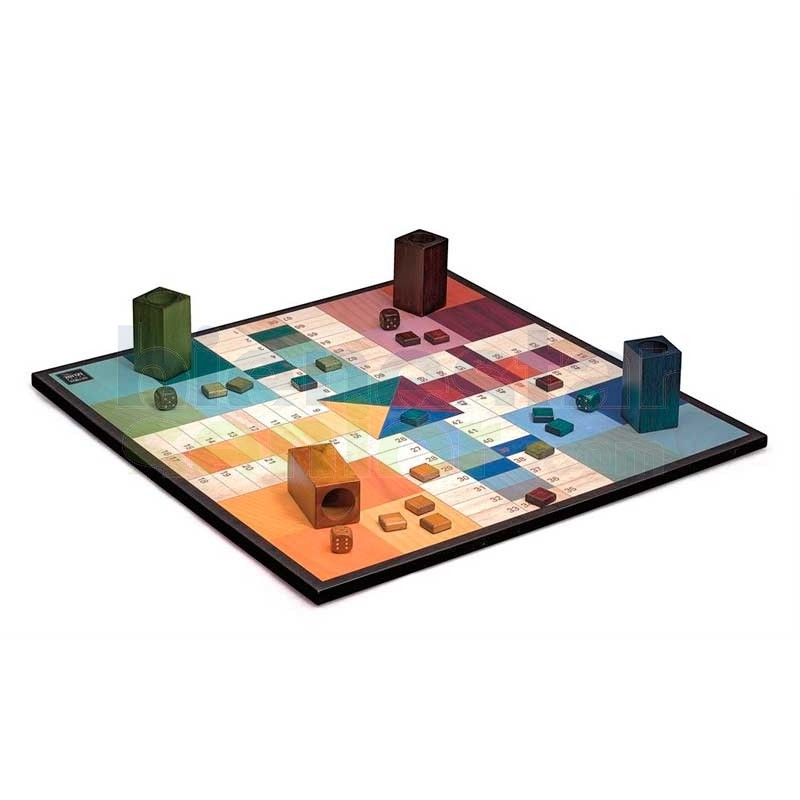 Juego Parchis Madera 'Deluxe'