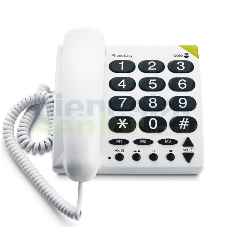 Doro PhoneEasy 311c - Teléfono Teclas de Ajuste Directo