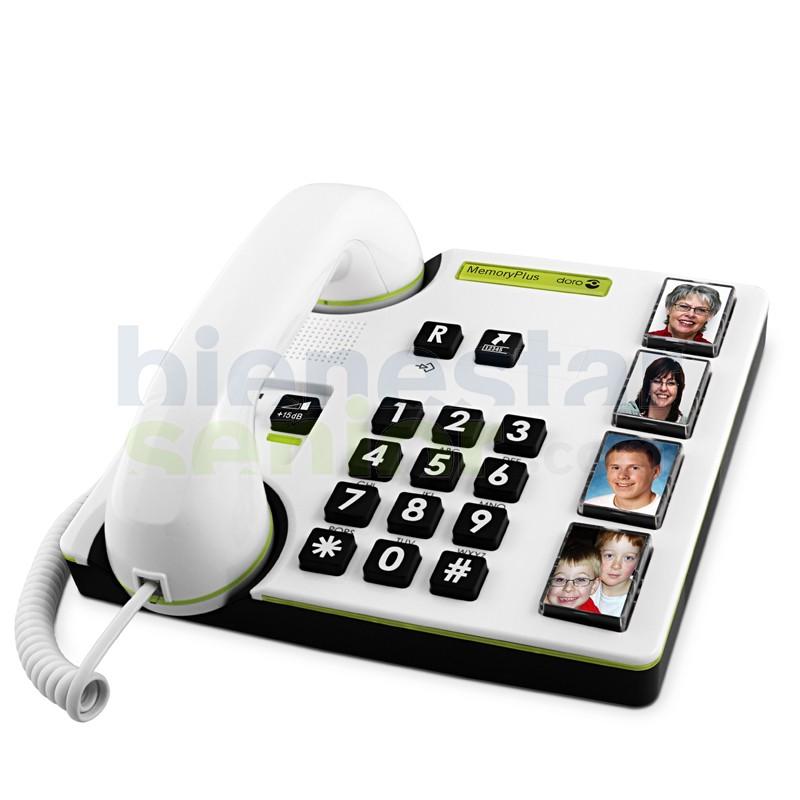 Teléfono (Doro 319iph) Teclas Grandes y Fotos