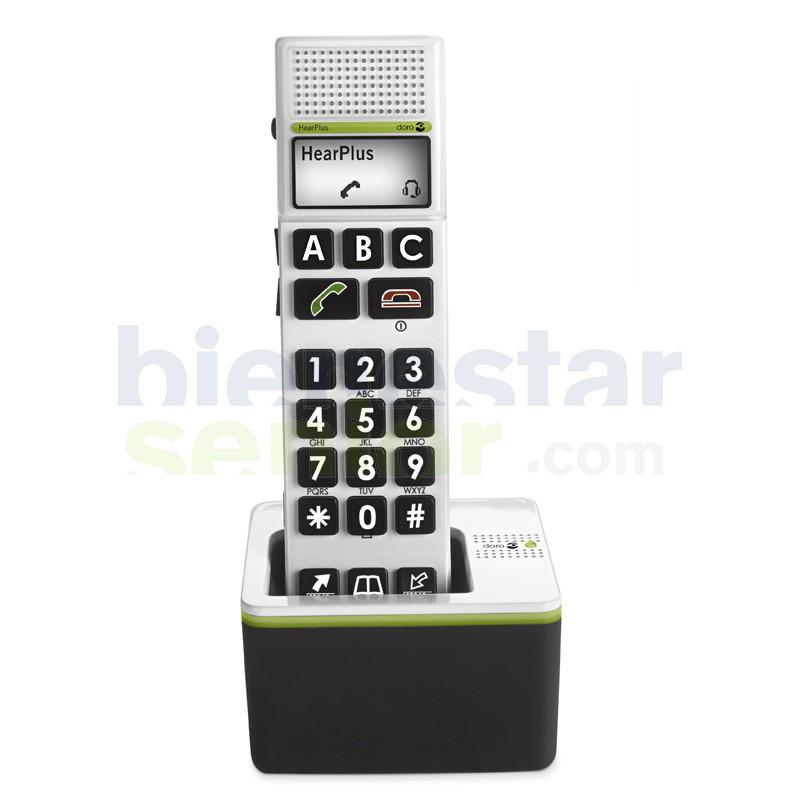 Teléfono Inalámbrico (Doro 318 w) Amplificado