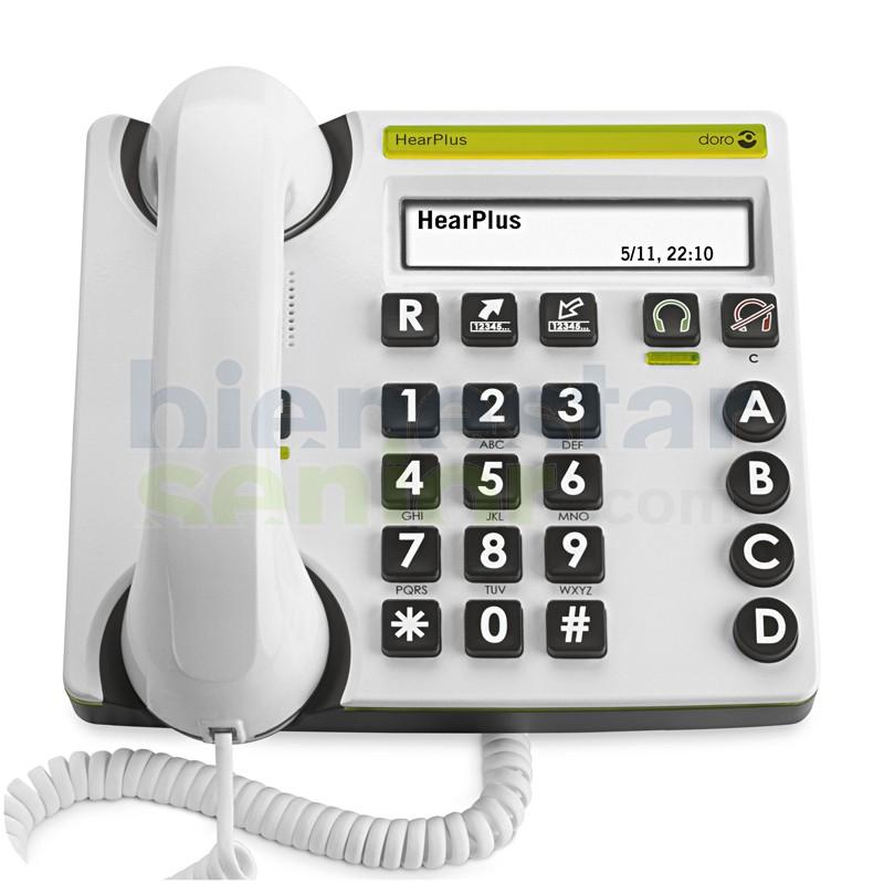 Doro HearPlus 317 - Teléfono Amplificado con Pantalla