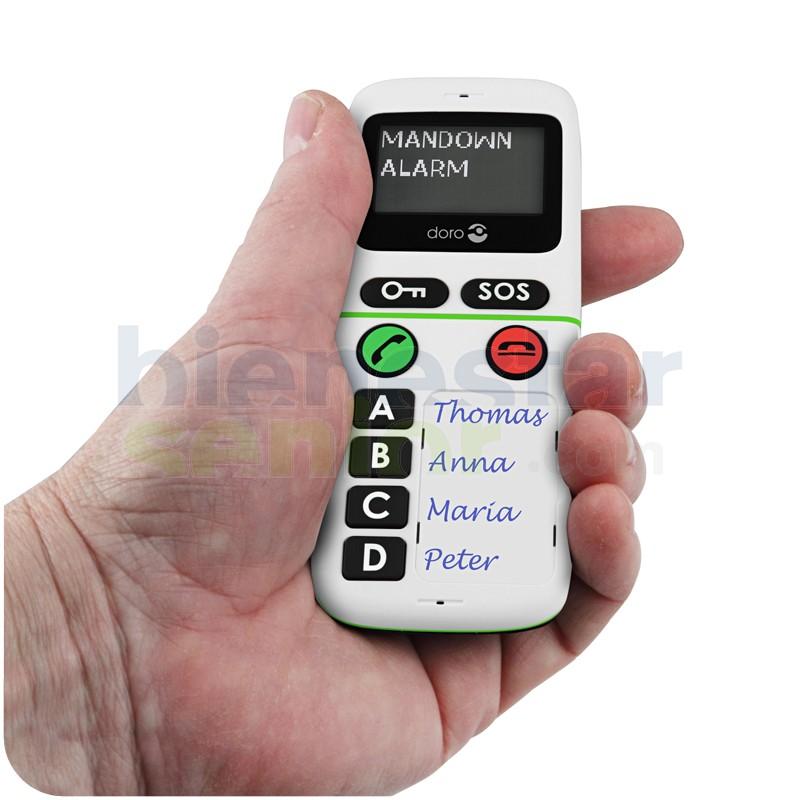 Doro HandlePlus 334 - Teléfono Móvil Detección Caídas