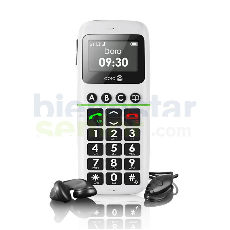 Doro PhoneEasy 338 - Teléfono Móvil Teclas Grandes y Agenda