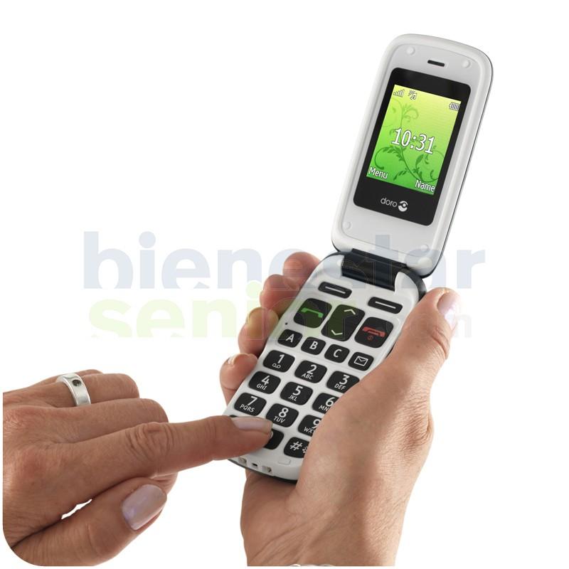 Teléfono Móvil (Doro 610) Teclas Grandes y Tapa