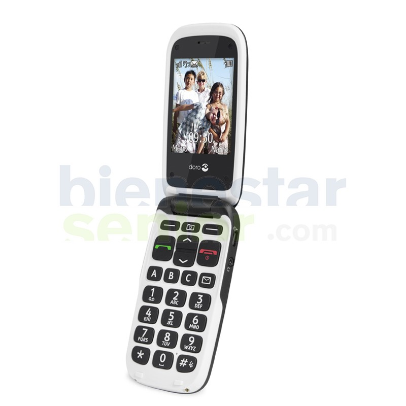 Doro PhoneEasy 612 - Teléfono Móvil Pantalla Grande