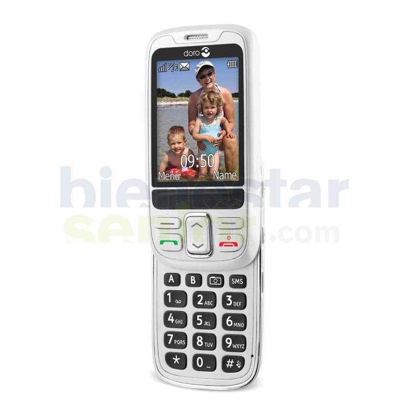 Doro PhoneEasy 715 - Teléfono Móvil Teclado Deslizable