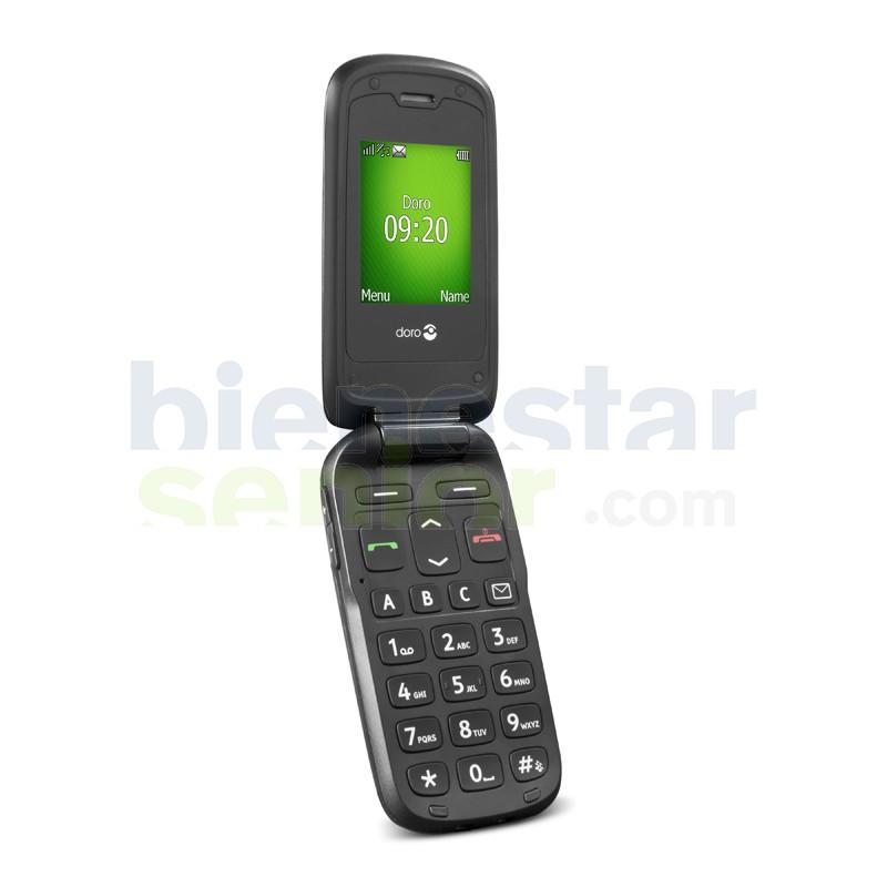 Doro PhoneEasy 605 - Teléfono Móvil Teclas Grandes y Tapa