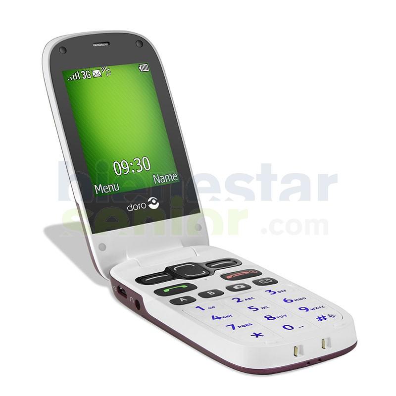 Doro PhoneEasy 621 - Teléfono Móvil con Tapa