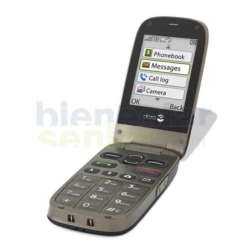 Doro PhoneEasy 622 - Teléfono Móvil con Tapa