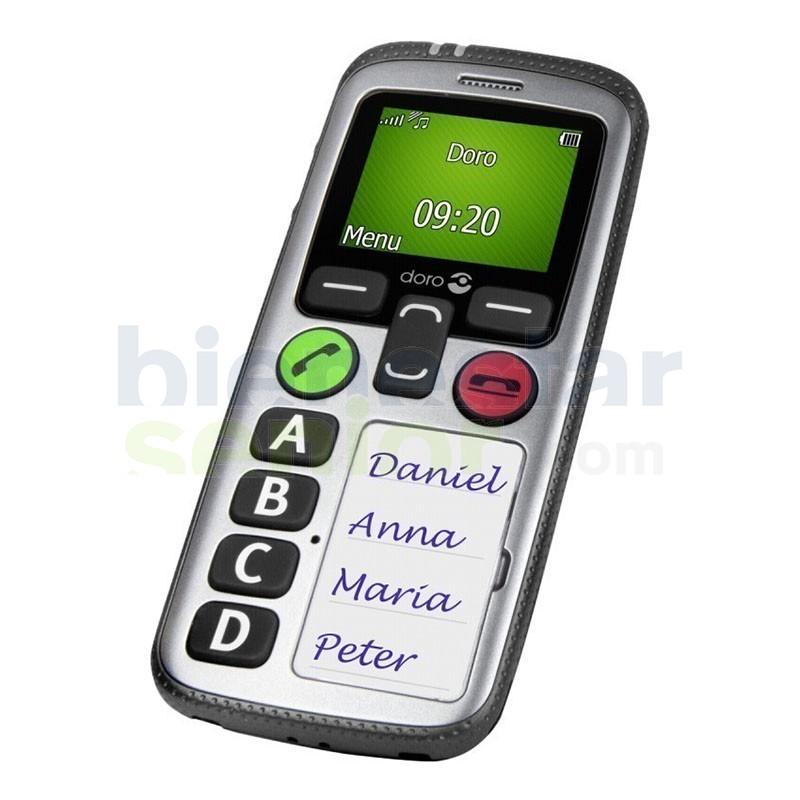 Doro Secure 580iup - Teléfono Localización GPS + Detección Caídas