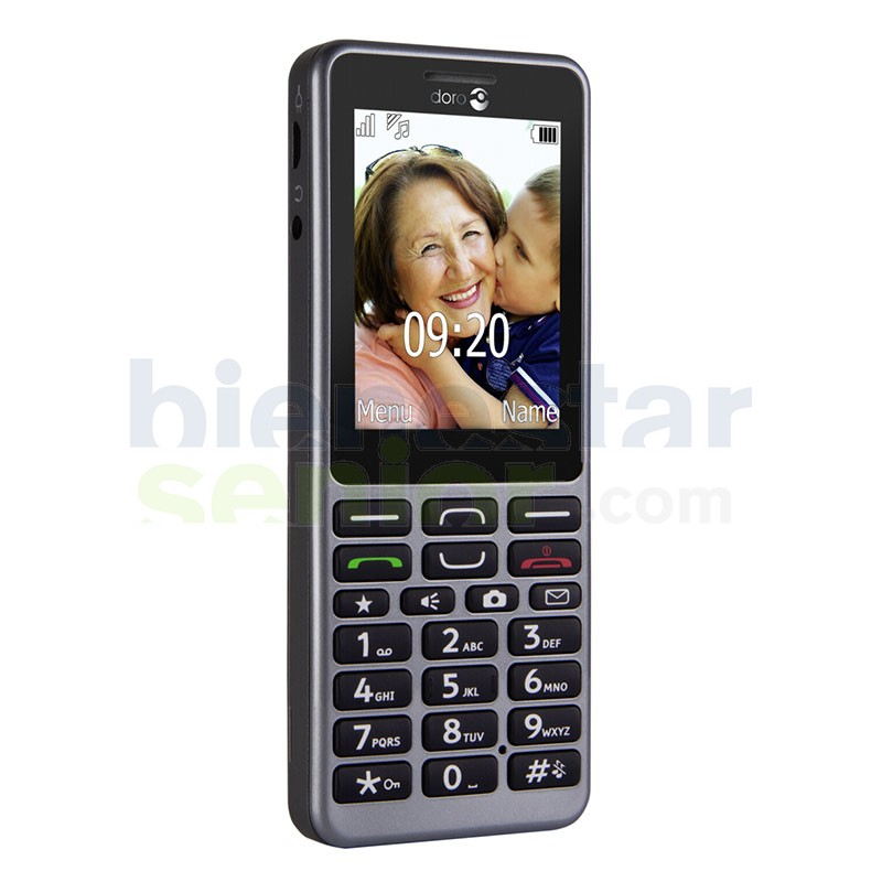 Doro PhoneEasy 509 - Teléfono Móvil Fácil Teclas Grandes