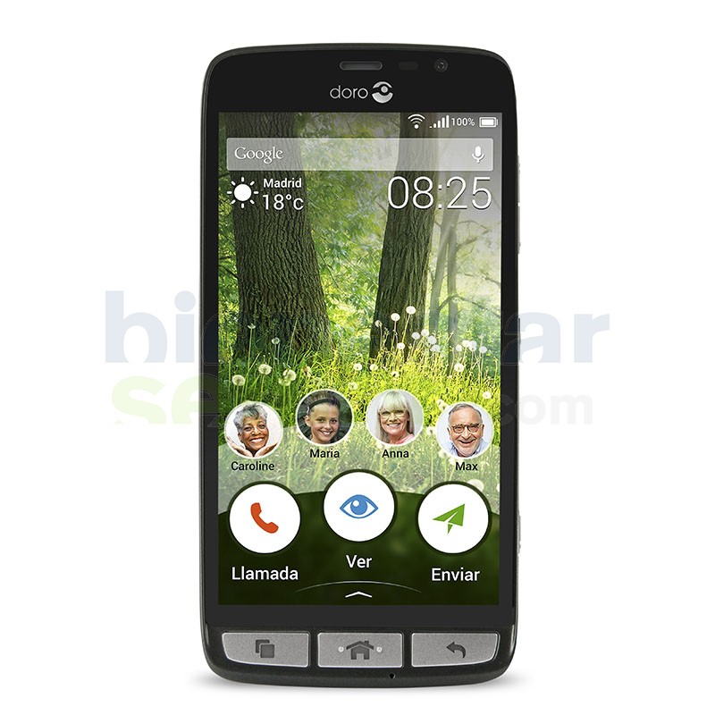 Doro Liberto 825 - Teléfono Móvil Táctil