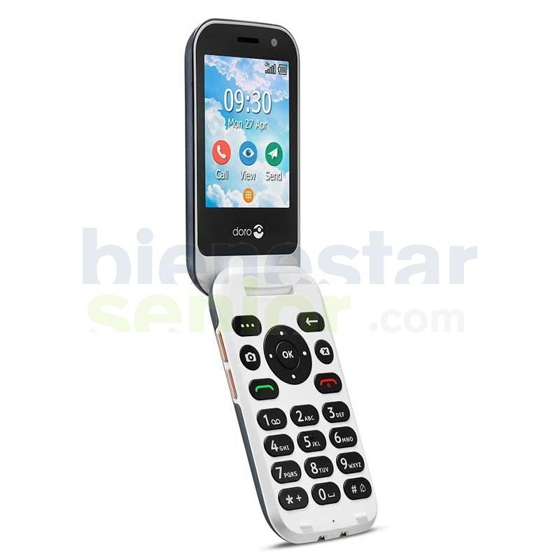 Doro 7080 - Teléfono Móvil Fácil con Whatsapp, Facebook e Internet