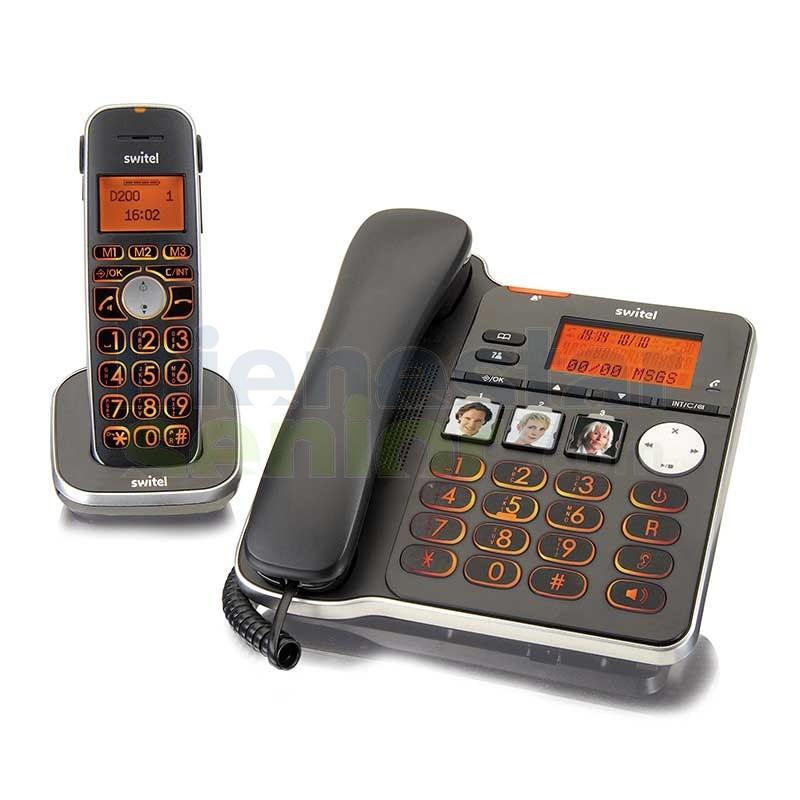 Teléfono Combo Amplificado