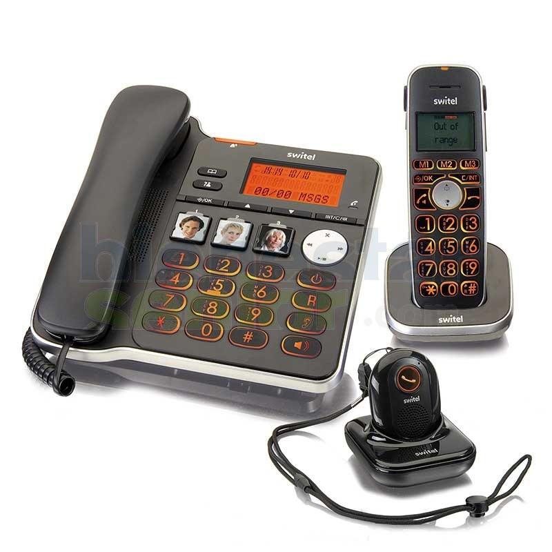 Teléfono Combo Amplificado y Medallón