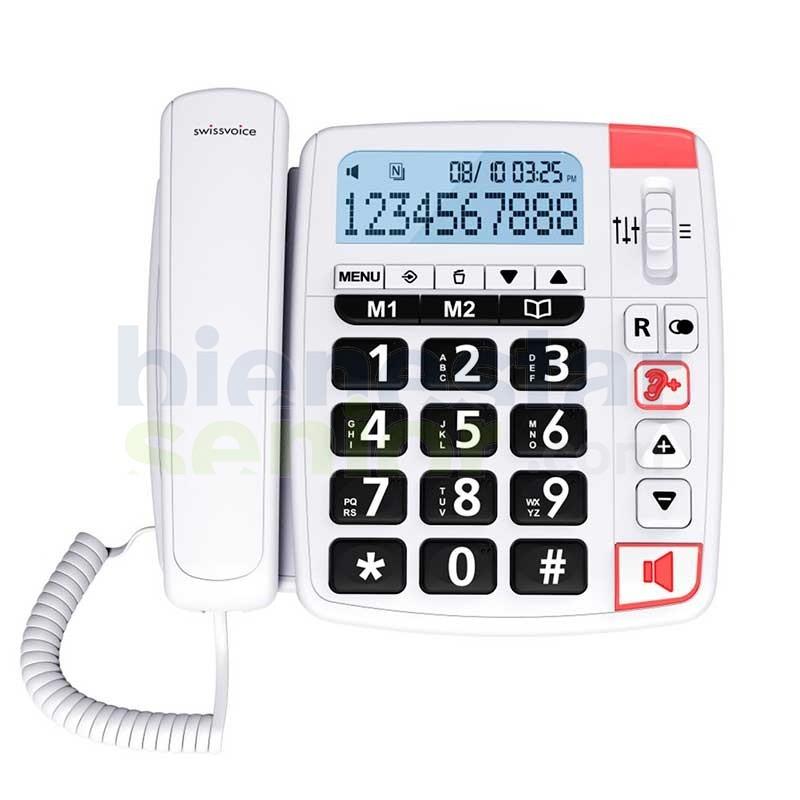 Teléfono Amplificado Fototeclas - Swissvoice Xtra 1150