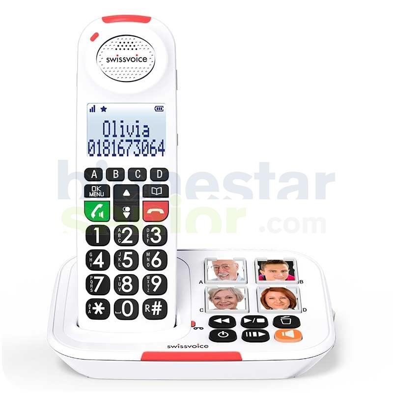 Telefono Inalambrico Base Fototeclas - swisscom Xtra 2155