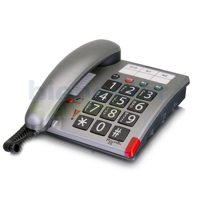 Teléfono Amplificado - amplicomms PowerTel 46