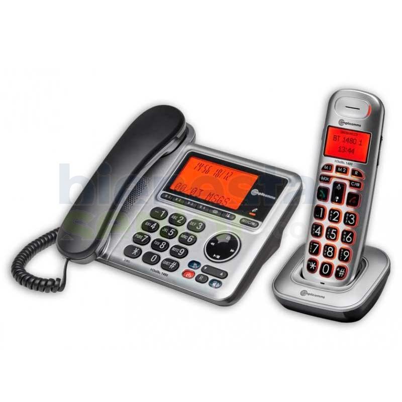 Teléfono Amplificado Combo - amplicomms BigTel 1480