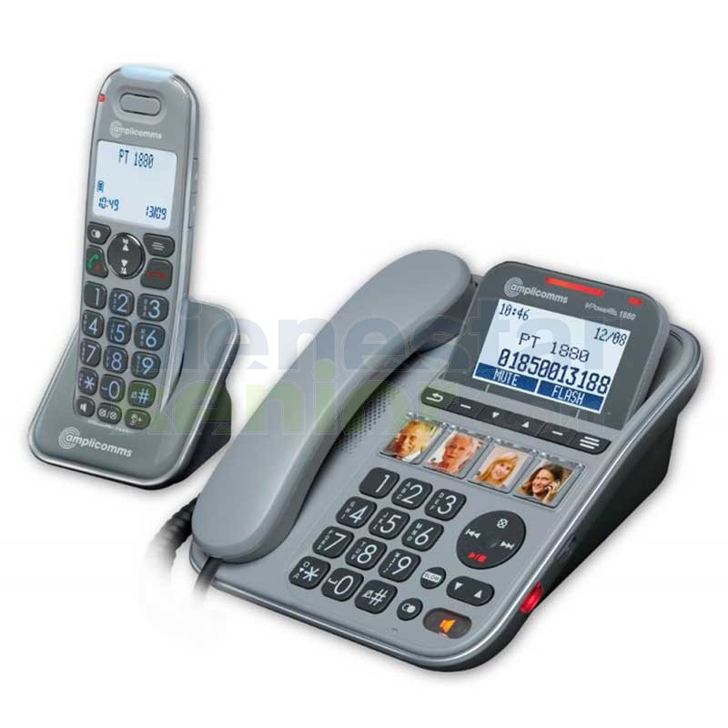 Teléfono Combo Amplificado Fotos - amplicomms PowerTel 2880
