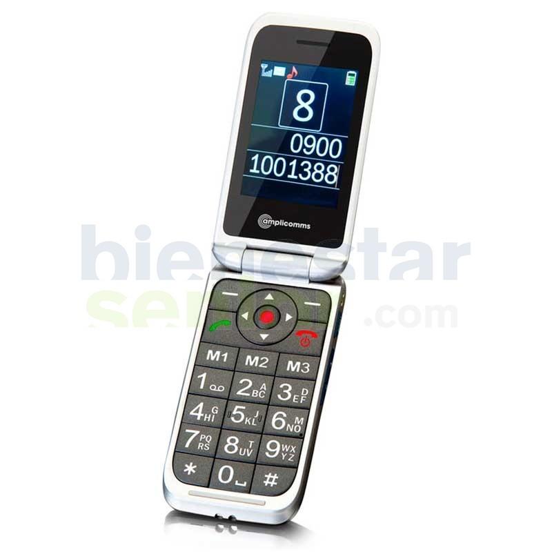 Teléfono Móvil Tapa - amplicomms PowerTel M7000i